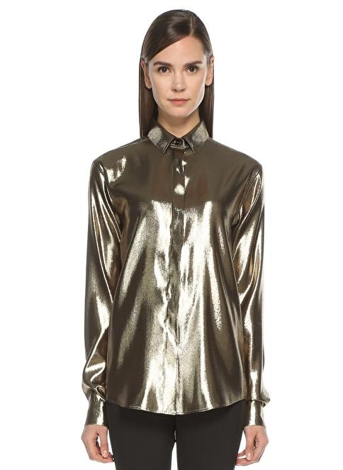 Saint Laurent Gömlek Altın